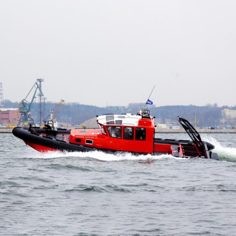 11.95米冲锋救助艇!''
