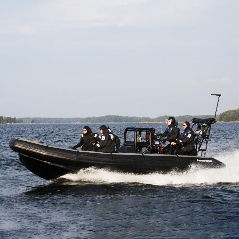 6米高速救援船!''