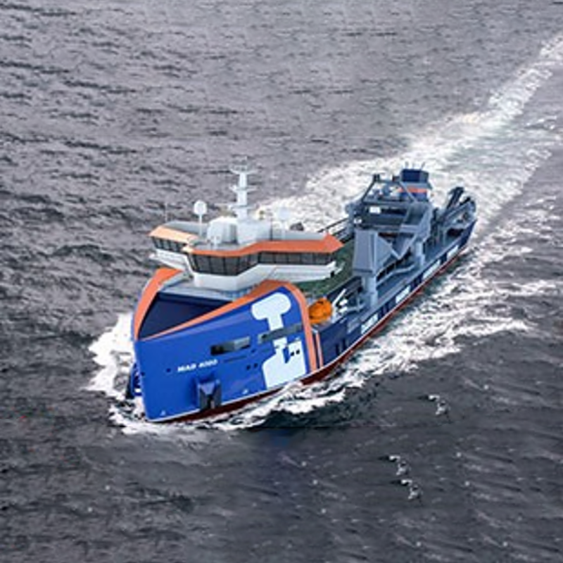 118米 挖泥船!''