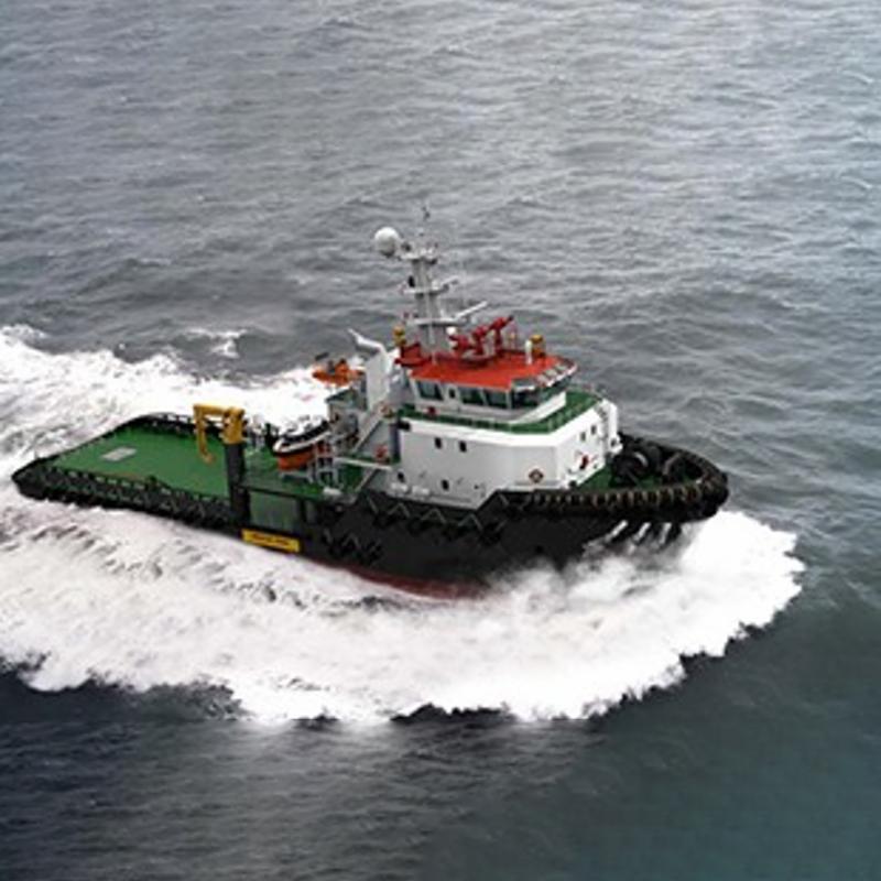 52.3米护航拖船!''
