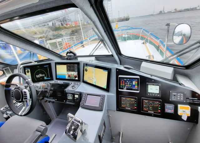 REAL-TIME INFORMATION FOR PILOT VESSELS