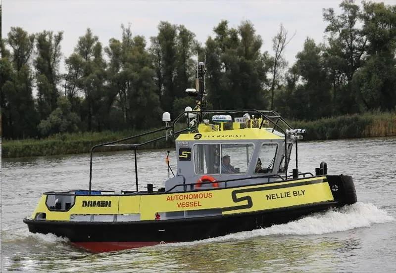 【Seawork独家】丹麦一艘无人拖轮将开启1000海里的自主航行!